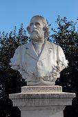 Menotti Garibaldi Statue In Janiculum Gardens, Rome