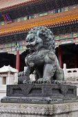 Chinese stone Lion