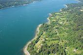 Over Seattle Island
