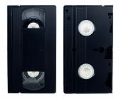 Old Video Tape Isolated