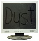 Lcd Monitor Under Dust