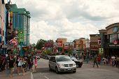 Niagara Falls, Canada - August 4: Famous Clifton Hills Street Area On August 4, 2013 In Niagara Fall