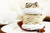 Crunchy Creamy Coffee Cake