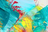 picture of abstract painting  - Abstract painting - JPG
