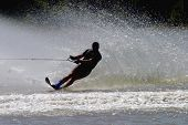Water Skier In Action...