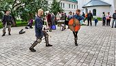 Joust On The Territory Of The Monastery.