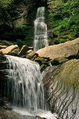 Waterfalls at Catskils mountains upstate NY
