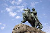 stock photo of bohdan  - Bogdan Khmelnitsky monument  - JPG