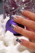 Great Nails and Christmas Decorations