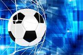 Goal Soccer Illustration