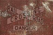 Vintage Railroad Background