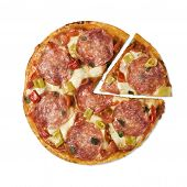 Salami Pizza Pie Chart