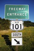 Highway 101 Entrance