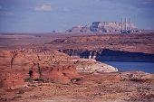 Lake Powell and Navajo Generating Station