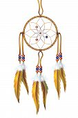 Dreamcatcher Illustration Isolated on White