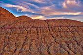 Erosion In The Badlands