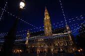 Brussel Belgium At Night