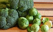 Broccoli And Brussel Sprouts
