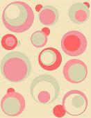 Retro Design With Circles