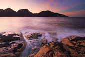 Earlier morning at Coles Bay, Freycinet National Park, Tasmania, Australia