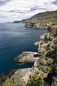 Coastline of Tasman National Park, Tasmania, Australia