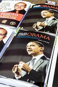 Lisbon, Portugal. May 30, 2013: Portuguese edition of Say It Like Obama by Shell Leanne on sale at t
