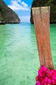 Thai Vessel Lagoon Landscape