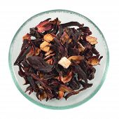 Fruit Tea With Hibiscus.