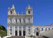 Sao Vicente de Fora Monastery. One of the most important monuments in Lisbon. 17th Century Mannerist