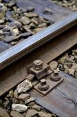 Mounting screws train tracks