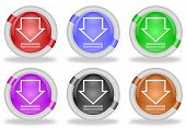 Download Icon Web Buttons