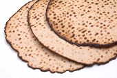 Round Matzo, Isolated