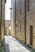 Narrow Street In San Quirico