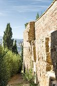 Wall In Pienza