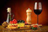 Snacks And Wine