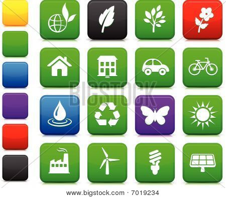 poster of Environment Elements Icon Set