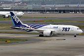 Ana All Nippon Airways Boeing 787 Dreamliner Tokyo Haneda Airport