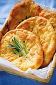 Potato Flatbread With Rosemary