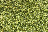Abstract Background Texture With Dry Green Peas