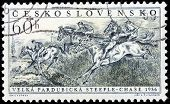 Steeplechase Stamp