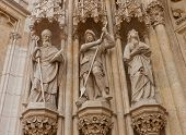 Statues Of Saints Of Zagreb Cathedral (xviii C.). Croatia