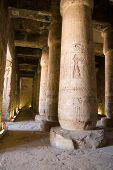 Interior, Temple of Abydos, Egypt