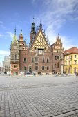Wroclaw, Cityscape. Town Hall