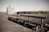 Benches And Path To Ballybunion Beach