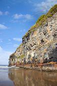 Big Cliffs Of Ballybunion On The Wild Atlantic Way