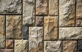 picture of nouns  - Stone wall background with hard edges - JPG