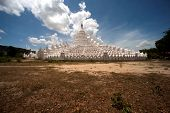 Hsinbyume Pagoda In Myanmar.