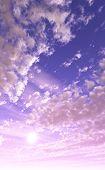 Beautiful Pink And Purple Sky