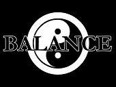 Yin Yang Illustration Series Balance