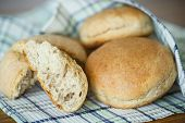 Bread Buns From Yeast Dough